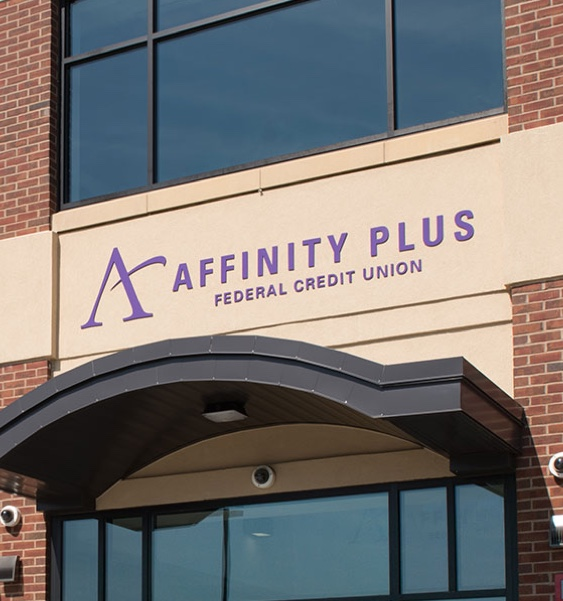 Example of office building signage