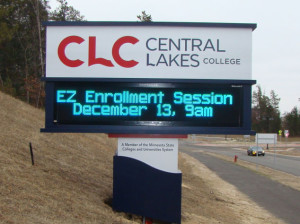 Digital Signage at Central Lakes College