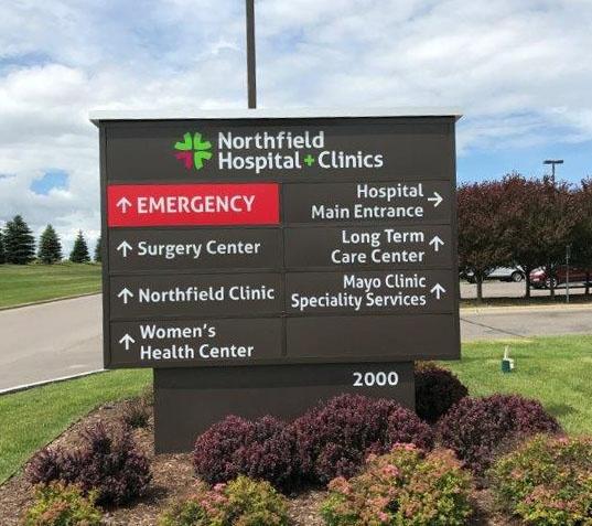 Hospital Directional Sign