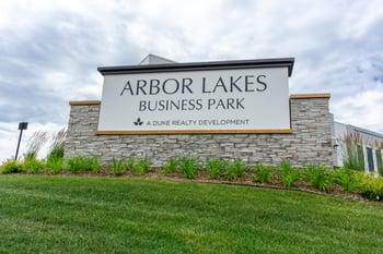 Arbor Lakes Monument Sign