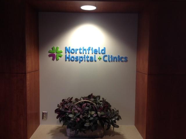 Interior Hospital Sign