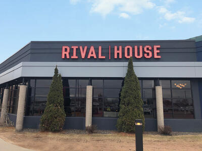 Marquee LED Bulb Letters - Rival House