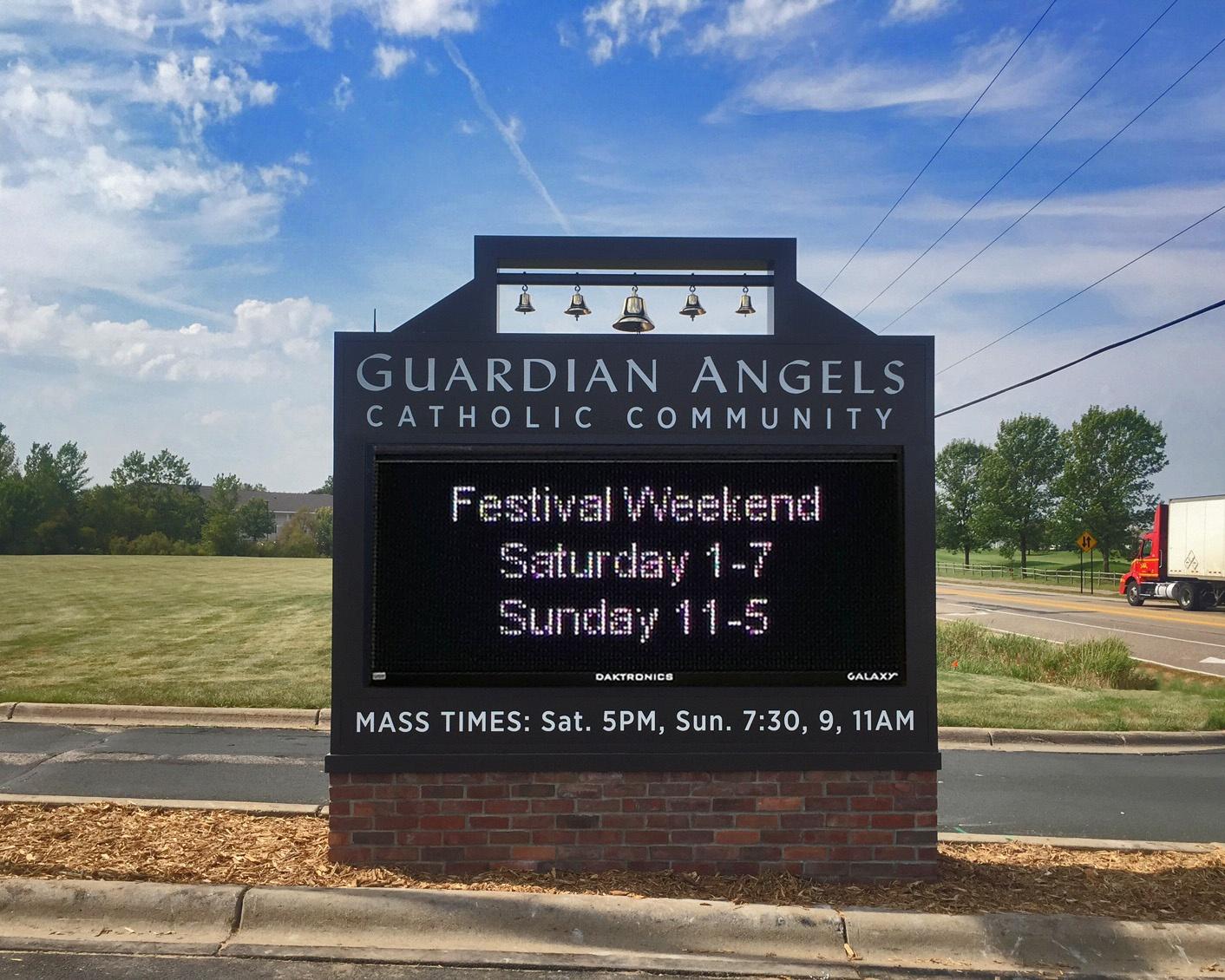 Guardian Angels Catholic Church Monument Sign.jpg