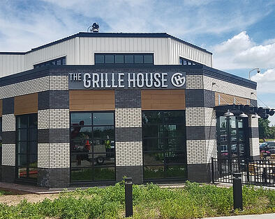 The Grille House Exterior Sign
