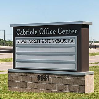 Cabriole Office Center Monument Sign