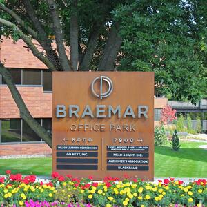 Braemar Office Park LED Monument Sign 1