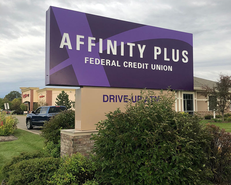 Affinity Plus Eagan Sign After Renovation