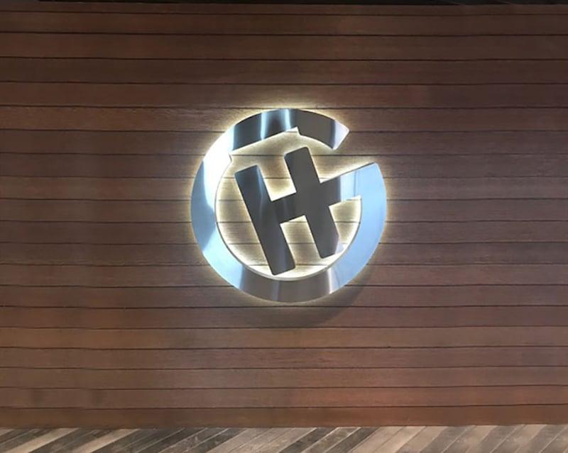 Grand Casino Halo illuminated Sign