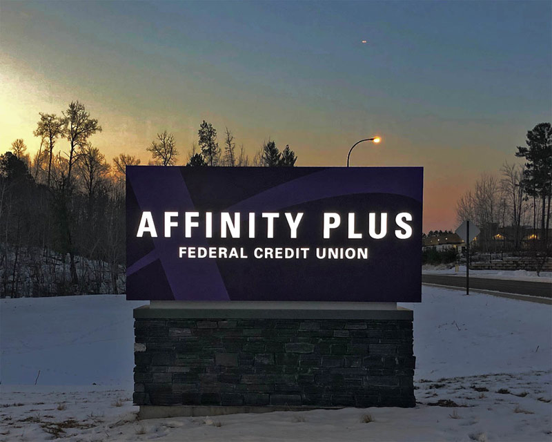 Affinity Plus monument example