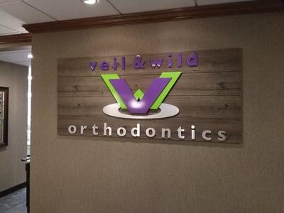 Veil Orthodontics Eden Prairie - Interior Logo