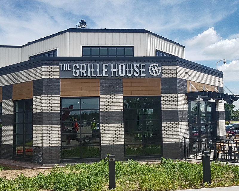 The Grille House Led Sign