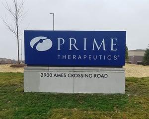 Prime Therapeutics - Monument Sign