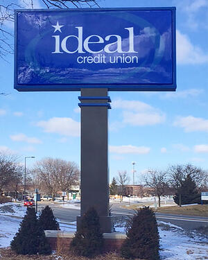 ideal-credit-union-pylon