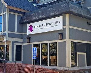 Kinderberry Hill - LED Wall Sign