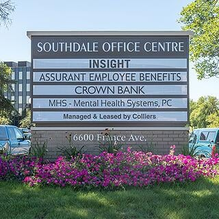 Southdale Office Centre Monument Sign
