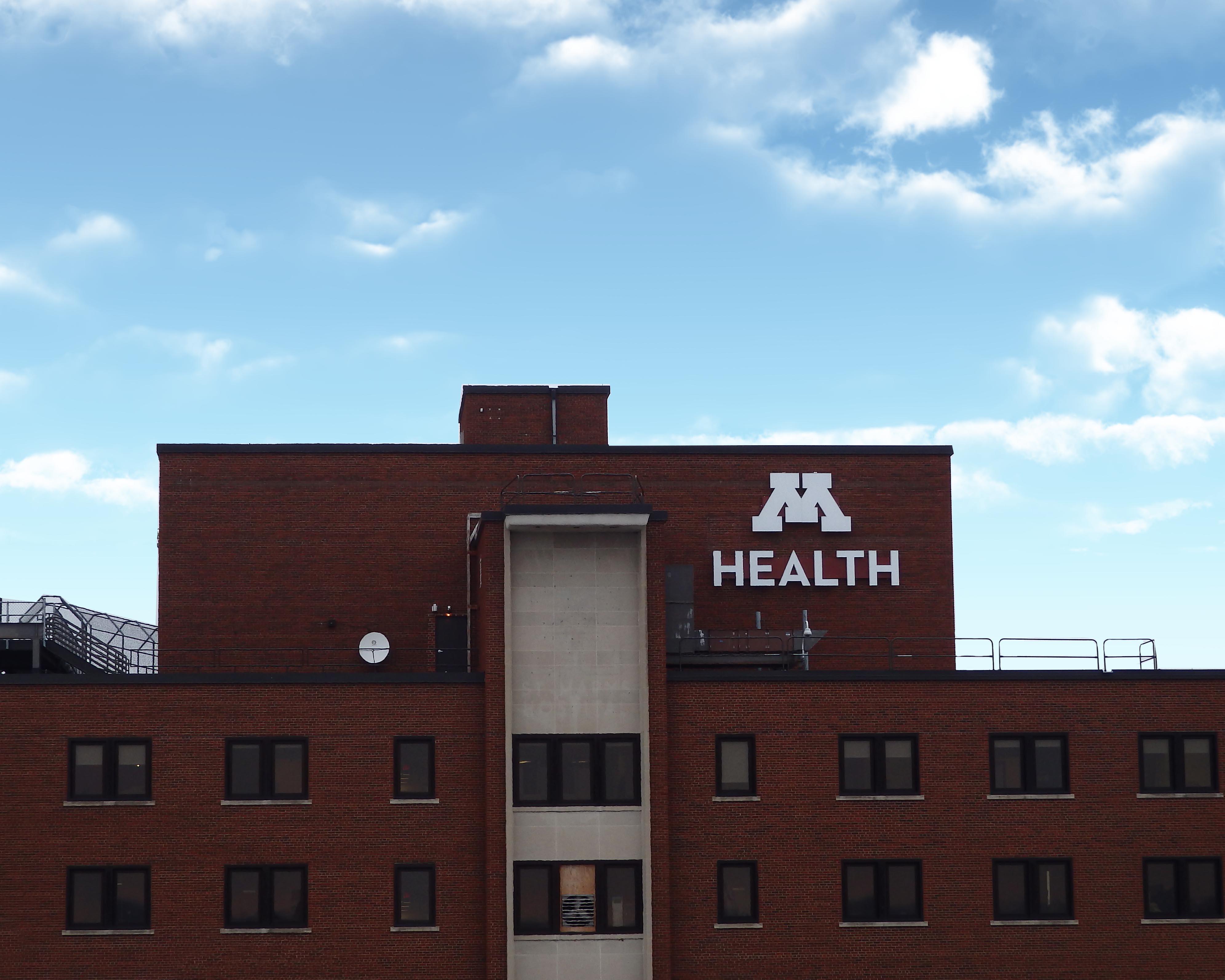 Example of medical logo signage
