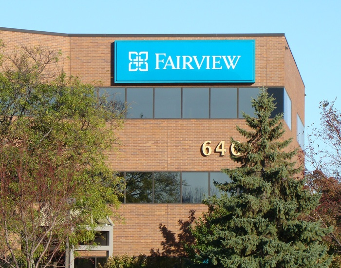 Fairview medical office building sign