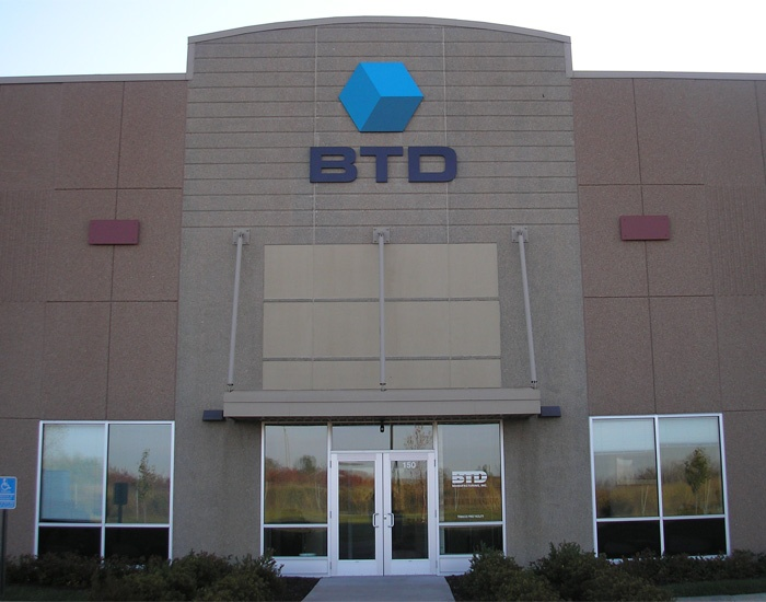 Example of custom industrial signs fabricated by Spectrum Signs