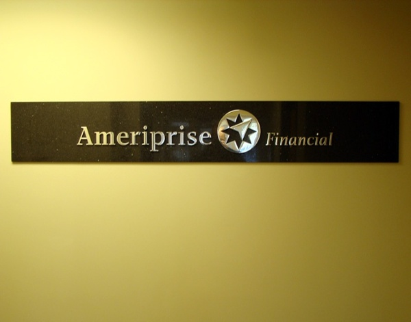 Example of interior office signs