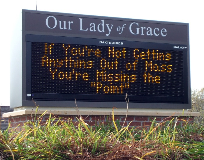 Example of LED message boards fabricated by Spectrum Signs