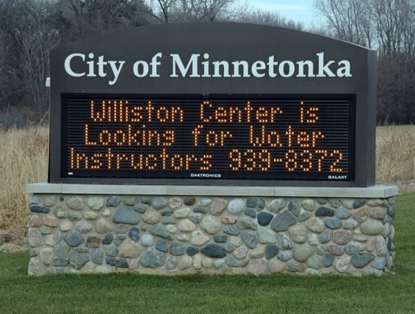 Example of custom LED message centers designed by Spectrum Signs