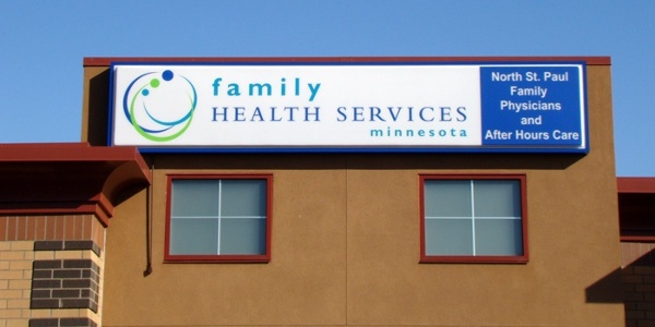 Example of medical cabinet signs from Spectrum Signs
