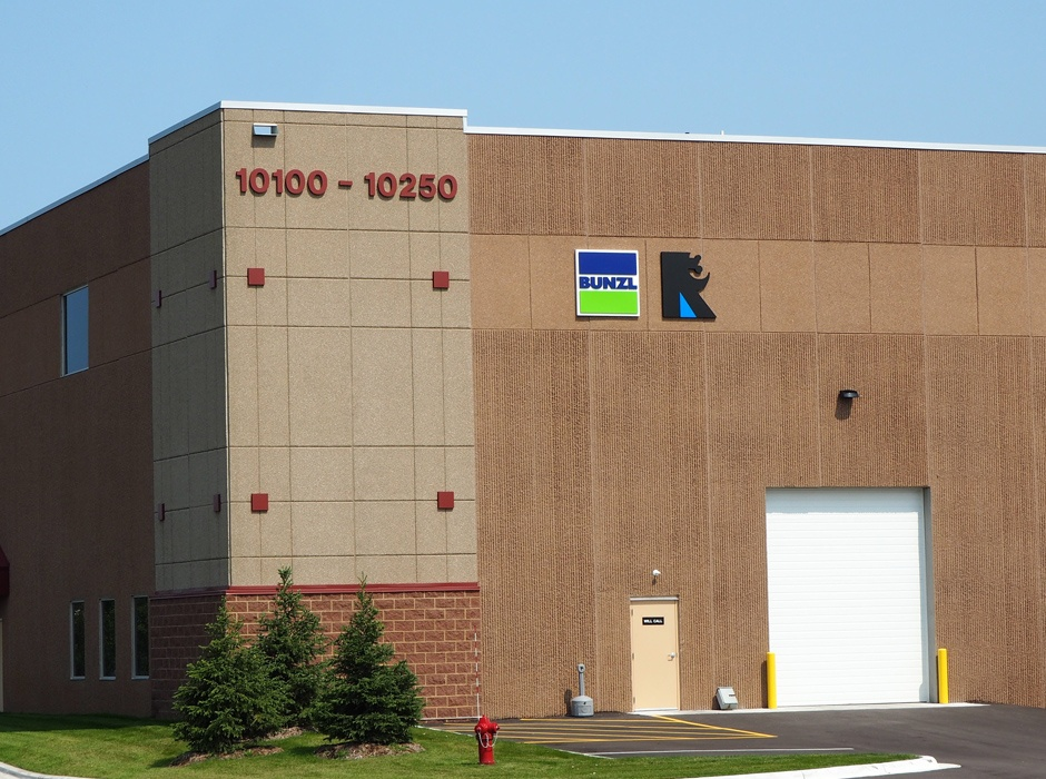 Example of industrial building signs by Spectrum Signs