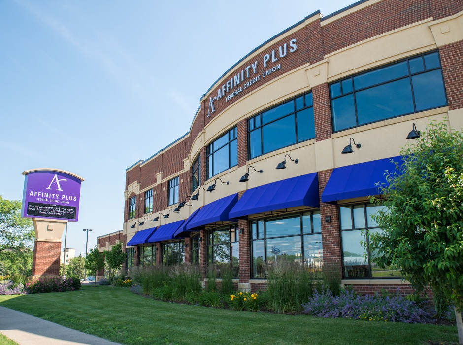 Affinity Plus Federal Credit Union Monument Sign