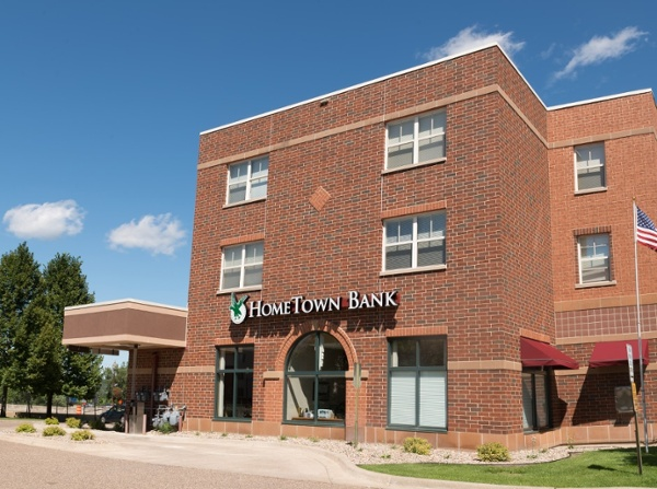 Home Town Bank LED Face Illuminated Letters Sign