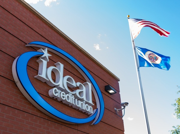 Ideal Credit Union LED Face Illuminated Letters Sign