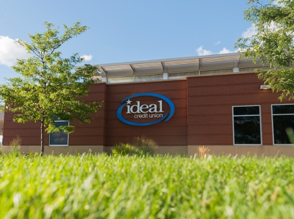 Ideal Credit Union LED Illuminated Letters Sign