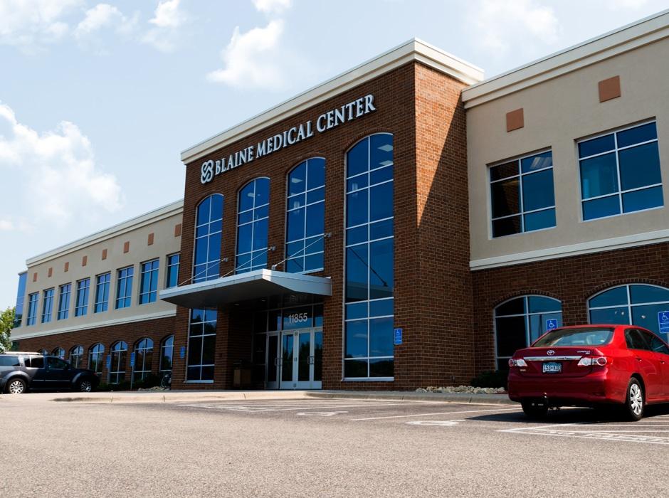 Blaine Medical Center LED Face Illuminated Letters