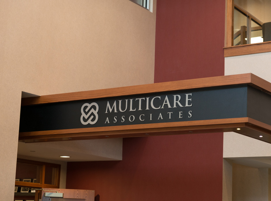Example of interior signs installed by Spectrum Signs
