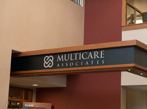 Multicare Associates Wall Plaque