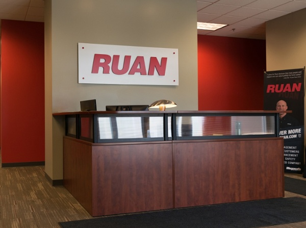 Example of industrial interior signage designed by Spectrum Signs
