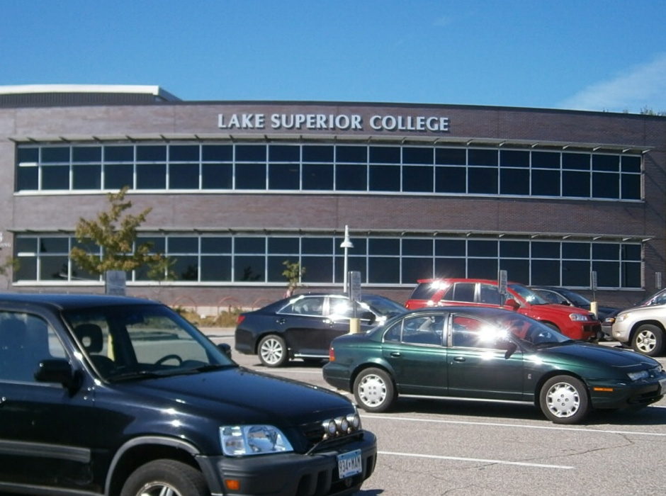 Example of a building sign for schools installed by Spectrum Signs
