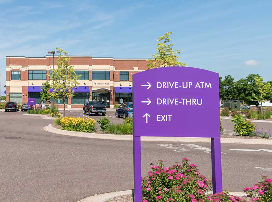 Example of ideas for wayfinding signage