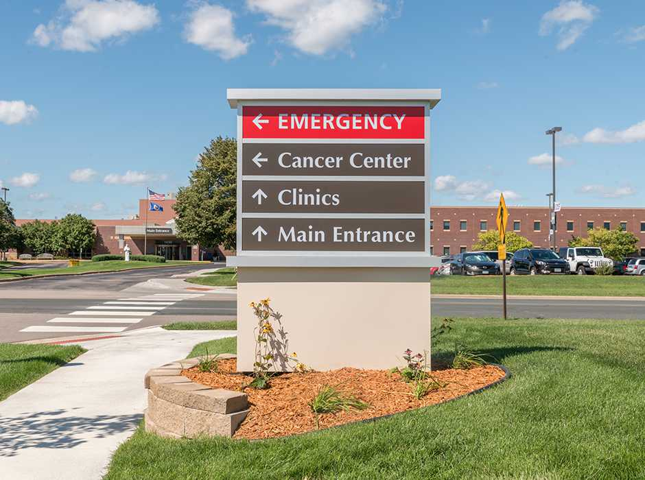 Example of an idea for wayfinding signs
