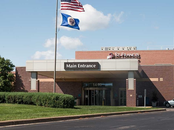 Example of healthcare building signs