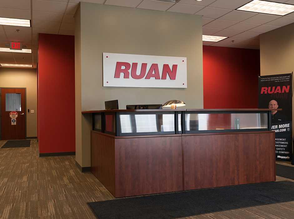Example of custom interior signage designed by Spectrum Signs