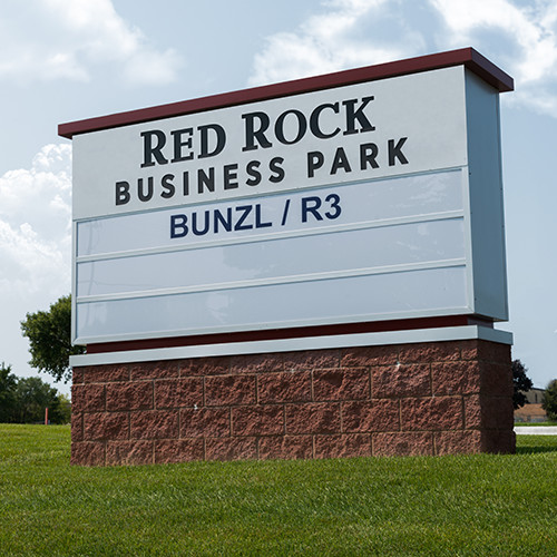 Example of custom industrial signage by Spectrum Signs