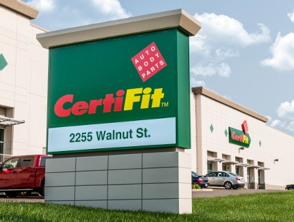 Example of retail signs fabricated and installed by Spectrum Signs